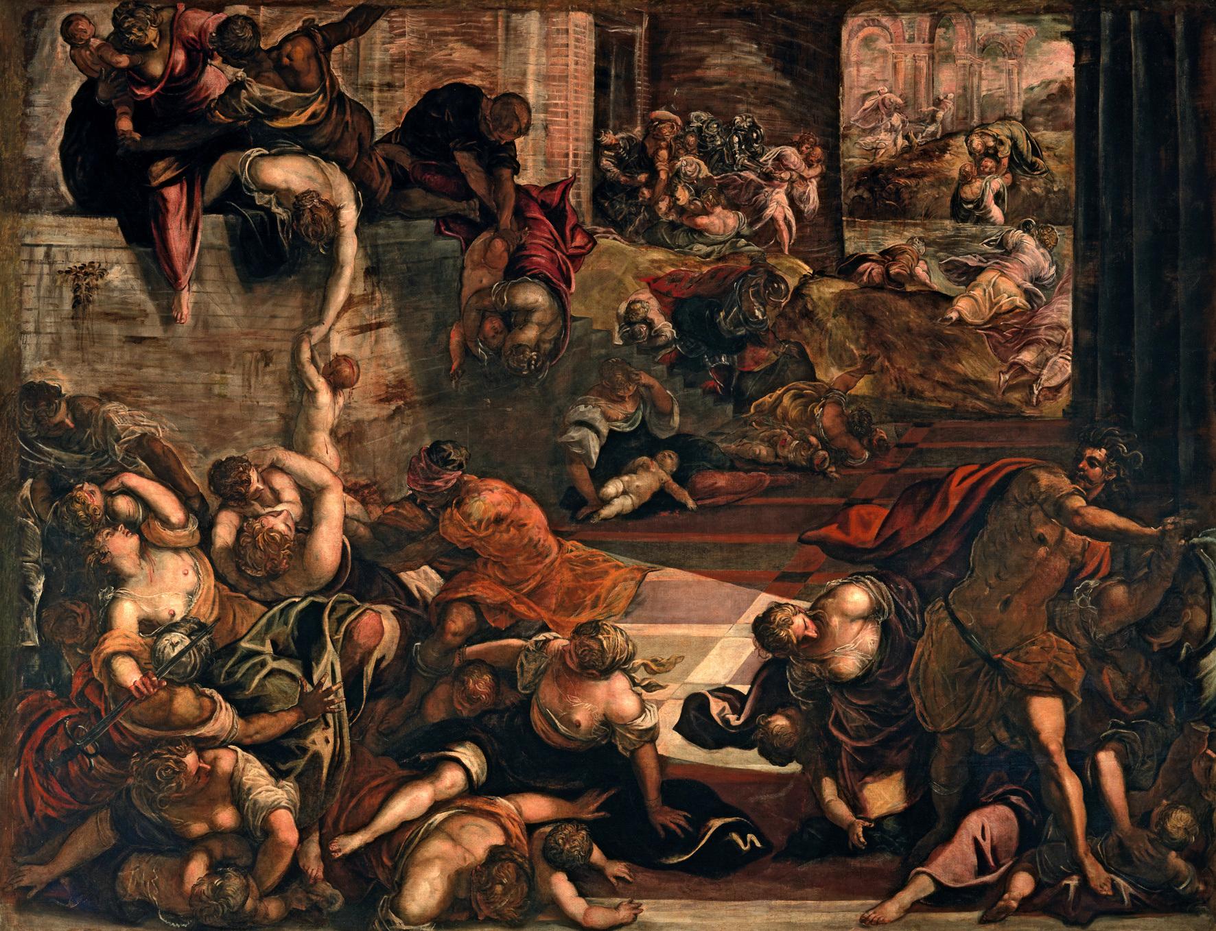 Tintoretto, La strage degli innocenti.